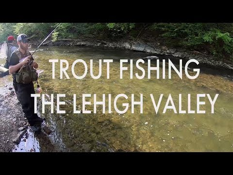 Trout Fishing PA's Lehigh Valley