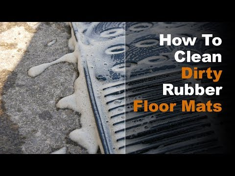 How To Clean Dirty Rubber Floor Mats