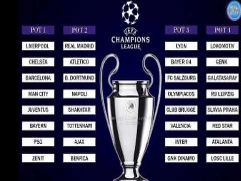Uefa Champions League Fixtures Today / Uefa Champions ...