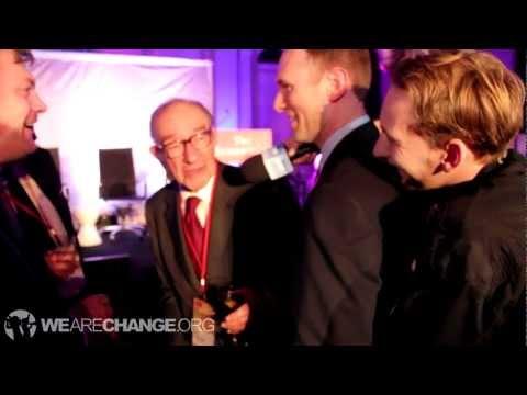 Former Fed Chairman Alan Greenspan Confronted on Bilderberg, Bohemian Grove