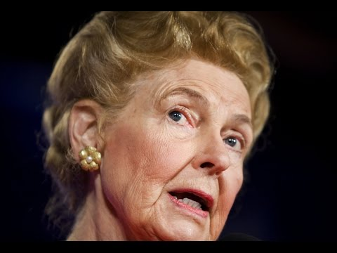 Phyllis Schlafly: Christians Are Better, Regardless of the Facts