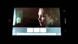 ZTE Blade - MP4 movie test