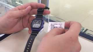 видеообзор casio ae 1300wh 2a