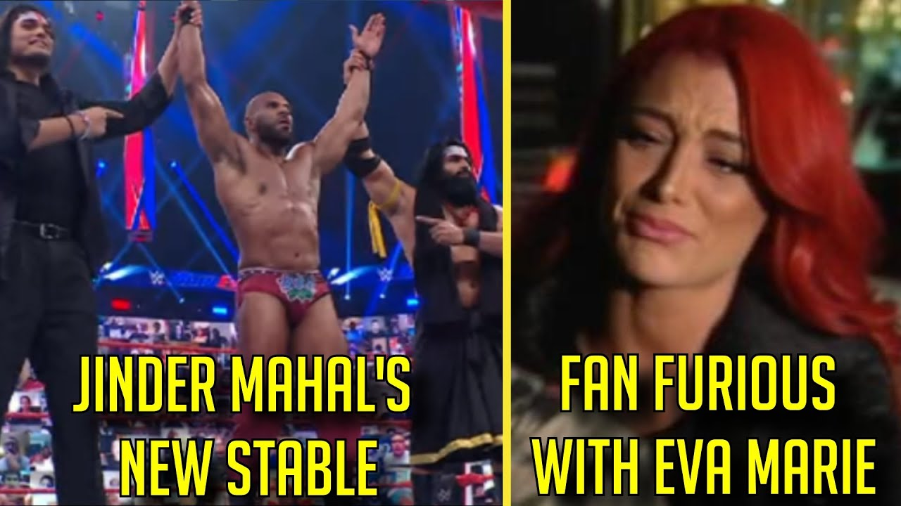 Fans FURIOUS With Eva Marie's RETURN! Jinder Mahal RETURNS With New STABLE! Former WWE Star Release