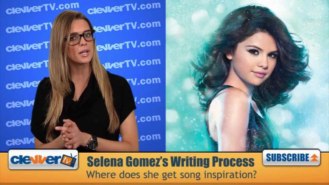 does selena gomez write her own songs