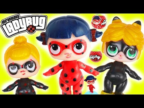 Fake LOL Surprise Dolls and Miraculous...