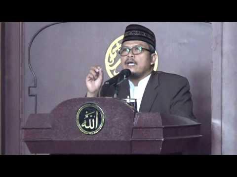 Ustadz Dr. Jeje Zainuddin - Menegakkan Amanah dan Keadilan