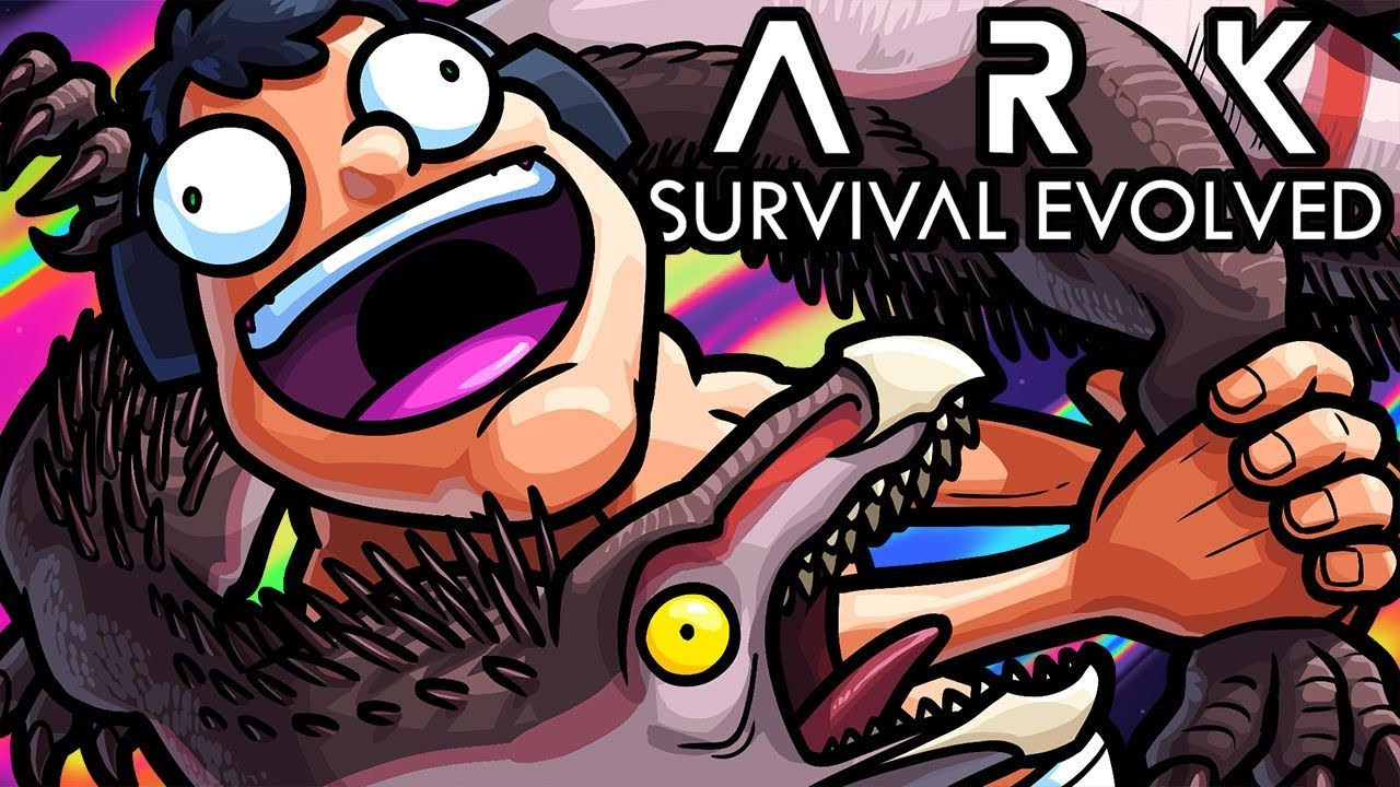 Ark Survival Evolved Funny Moments - Survival of the Poop Server! thumbnail
