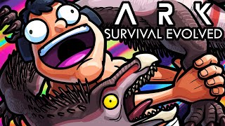 Ark Survival Evolved Funny Moments - Survival of the Poop Server!