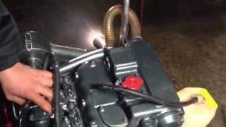 Essai 38 hp yanmar moteur 1