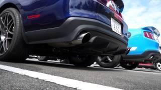 Mustang GT500 空ぶかし ①
