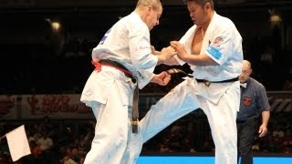 THE 10th WORLD KARATE CHAMPIONSHIP Men 3rd round Daniel Trifu vs Na...