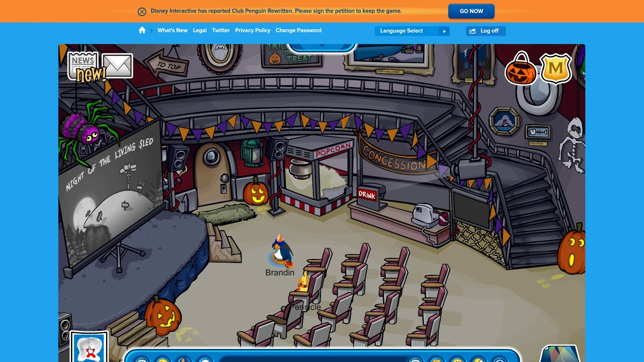 cpr halloween party all candy found club penguin rewritten cheats