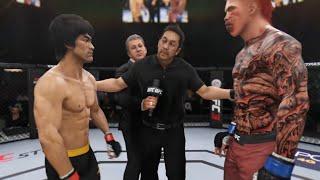Bruce Lee vs. Vicious (EA Sports UFC 3) - Epic Battle