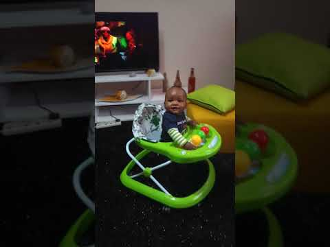 6months baby dancing and singing harmonize_tz song