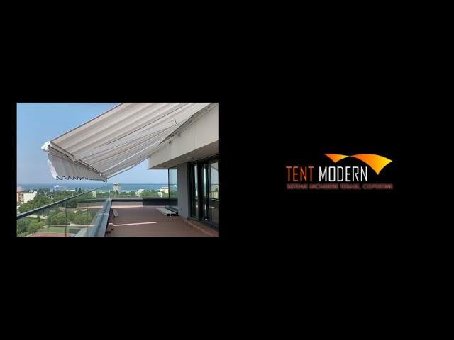 COPERTINĂ RETRACTABILĂ CU BRAȚE - Tent Modern