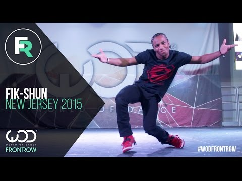 Fik-Shun | FRONTROW | World of Dance New Jersey 2015...