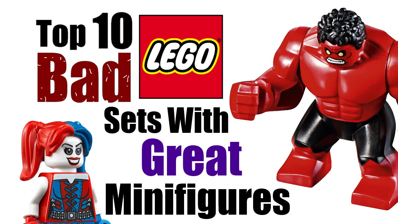 top 10 bad lego sets with great minifigures youtube. Black Bedroom Furniture Sets. Home Design Ideas