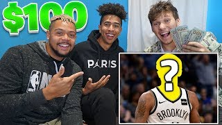 CRAZY GUESS THAT NBA PLAYER.. Win $100