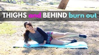 Thigh and Behind Shape Up | Low Impact Lower Body