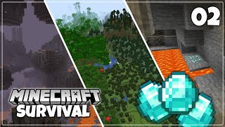 Amazing Minecraft 1.16 Seed! - Survival Let's Play | Episode 2