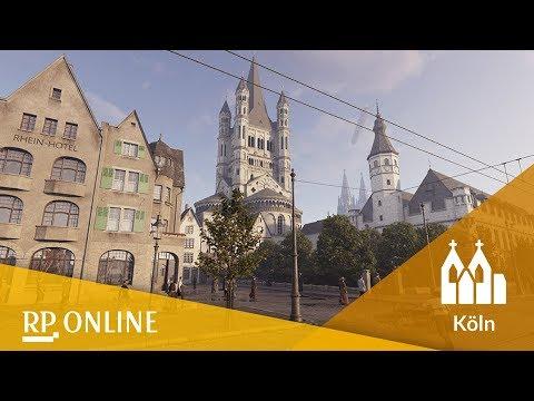 Mit Virtual Reality eine Zeitreise in das Köln der Kaiserzeit