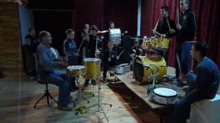 Warsztaty perkusyjne w Domu Kultury w Sochocinie