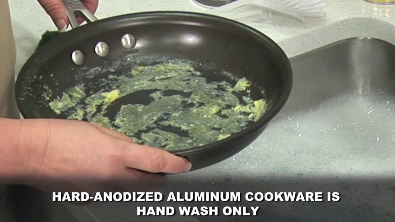 Superbe Cleaning The Interiors Of Your Calphalon Hard Anodized Nonstick Cookware    YouTube