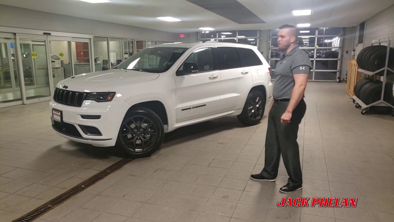 2020 White Jeep Grand Cherokee Limited X
