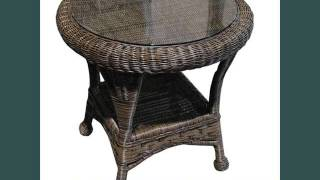 Смотреть видео Quality Wicker Frame Nightstand