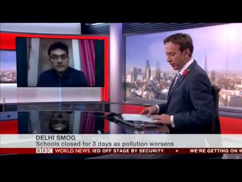 Delhi Air Pollution and government declares emergency with BBC Reporter Nitin Srivastava