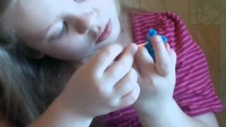 Плетение резиночек урок номер 1