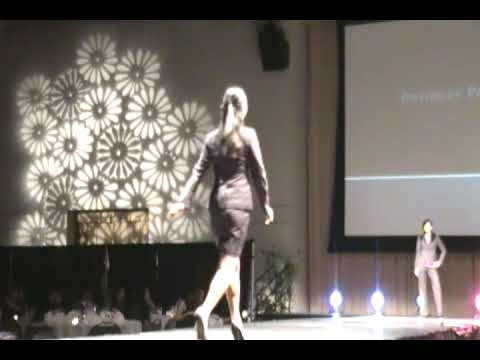 UCSD AKPsi Business Fashion Show 2009 Part I- Business Professional