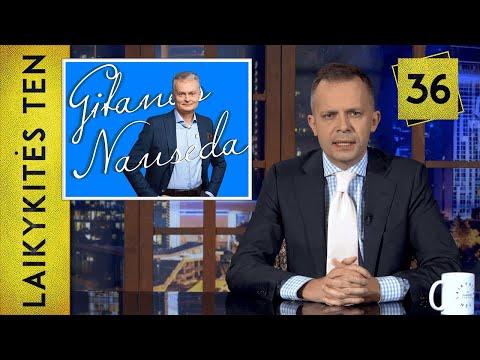 Išrinktasis prezidentas Gitanas Nausėda|| Laikykitės ten su Andriumi Tapinu || S03E36