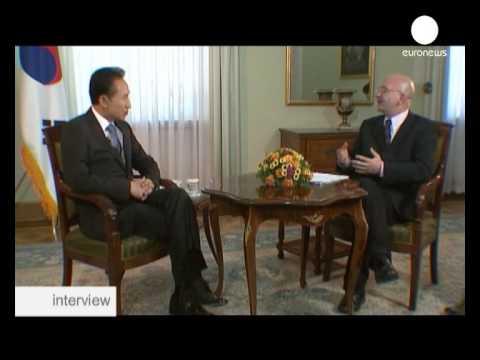 interview - Lee Myung-bak,  président de la Corée du Sud