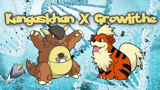 Kangaskhan X Growlithe - DNA Splicer