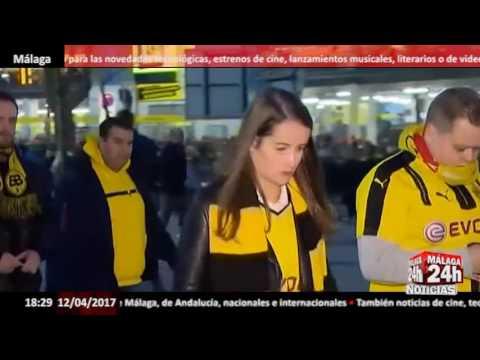 """Detenida una persona por el """"ataque terrorista"""" contra el Borussia Dortmund - Málaga 24h TV -"""
