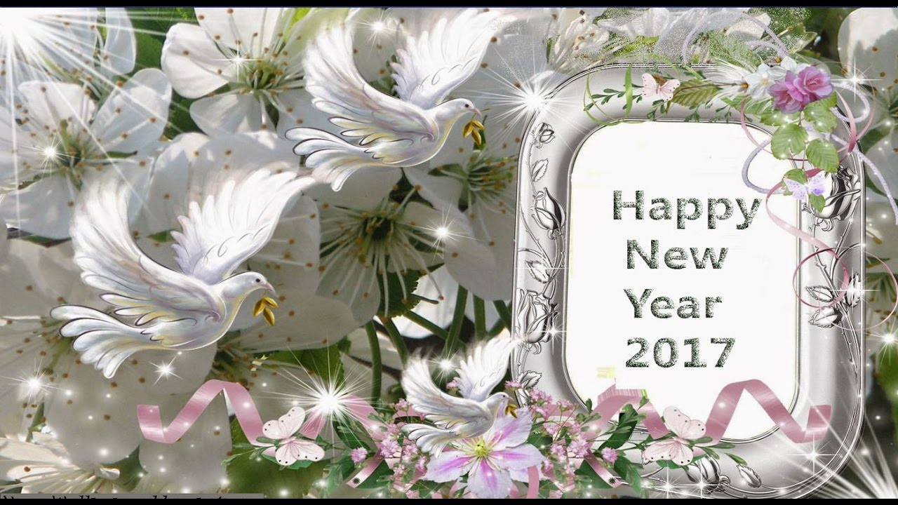 video new year greetings