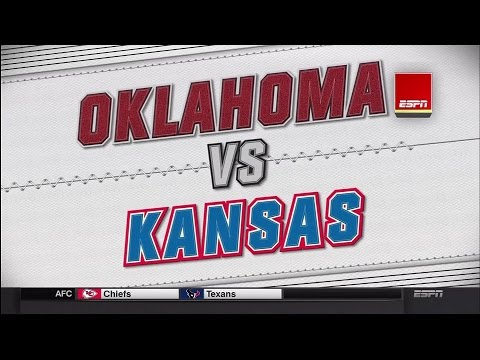 Oklahoma Sooners vs Kansas Jayhawks 1/4/2016 - 1080p