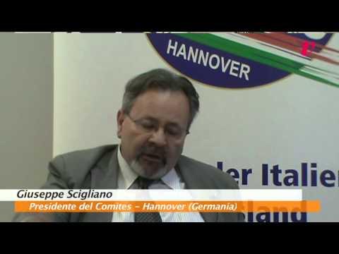 Forum con Giuseppe Scigliano, Presidente del Comites di Hannover (Germania)
