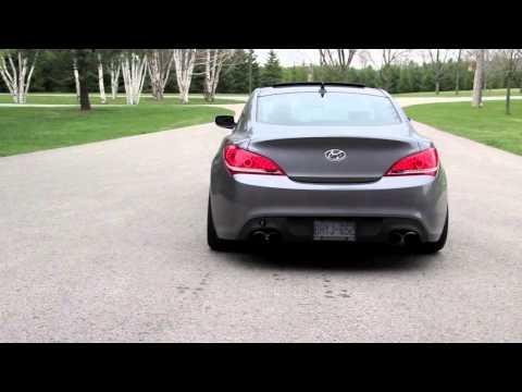 Genesis Coupe 3.8 Stillen Exhaust