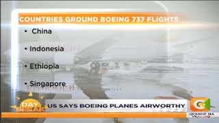 Countries that have grounded Boeing 737 max-8 flights