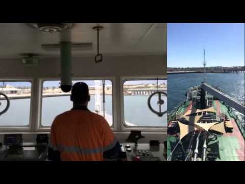 Teekay Australia | Bunker Barge Parmelia 1 (Timelapse)