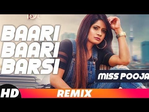 Baari Baari Barsi (Remix Song) | Miss Pooja | G Guri | Latest Remix Song 2018 | Speed Records