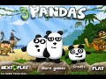 3 PANDAS Game Online Free Flash Game Videos GAMEPLAY