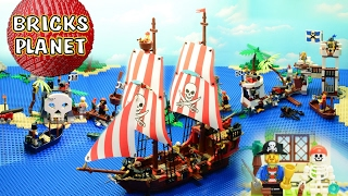 LEGO Pirates 2015 Ultimate Stop Motion review