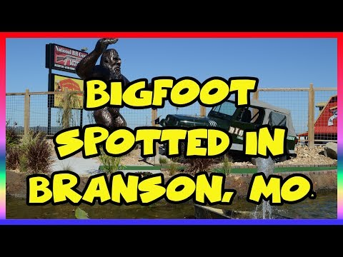 Bigfoot Spotted in Branson, Missouri (Attraction Review) - Sir Willow's Park Tales Ep 26