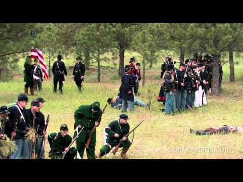 2010 Civil War Battle Re-enactment, Riverside Stat...
