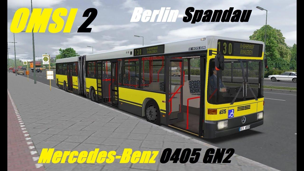 omsi 2 mercedes benz o405 gn2 berlin spandau line 130 youtube. Black Bedroom Furniture Sets. Home Design Ideas