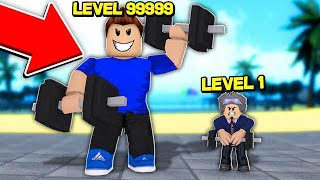 I TRAINED and TURNED the STRONGEST of ROBLOX
